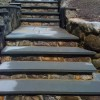 Pavers - Natural Blues Stone Steps With 1/2 inch Veneer Face Stone